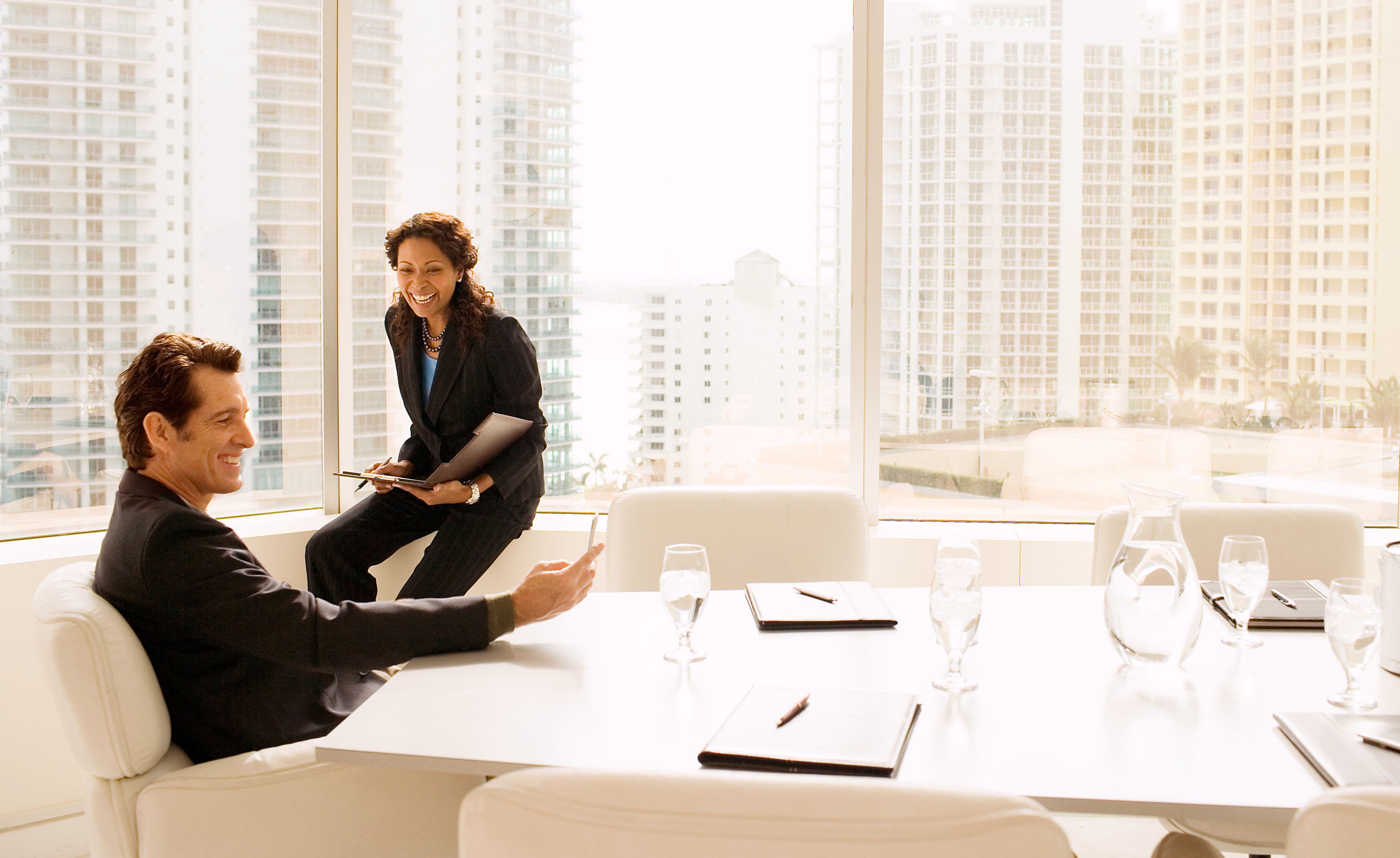 Miami Skyline Boardroom