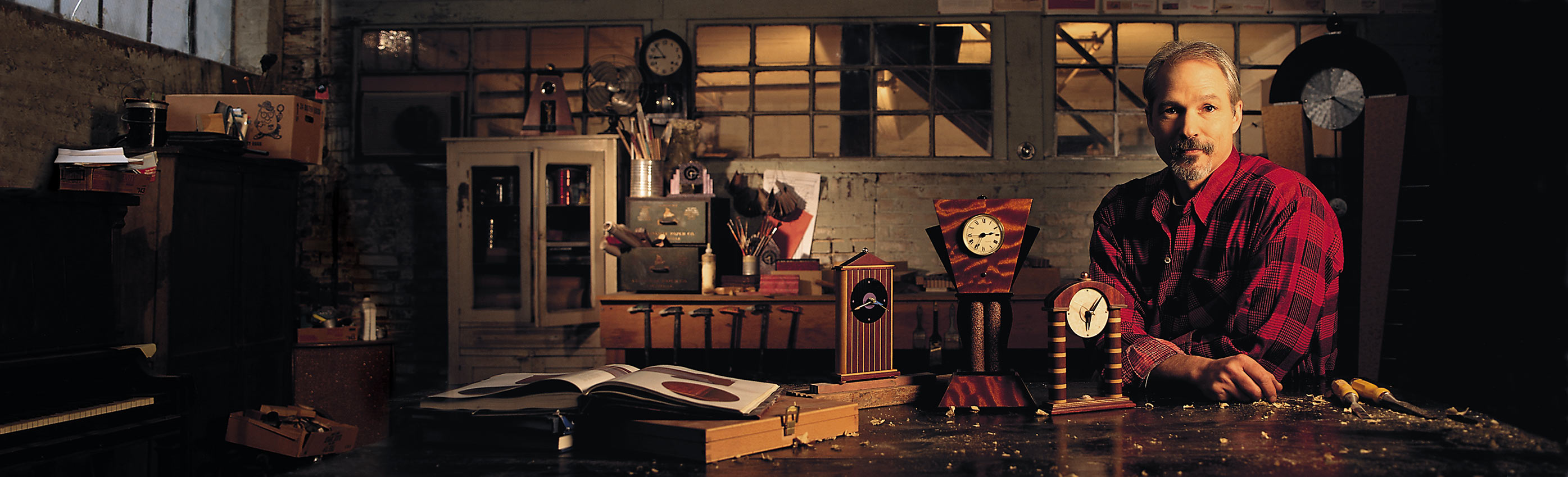 Artisan Clockmaker Workshop
