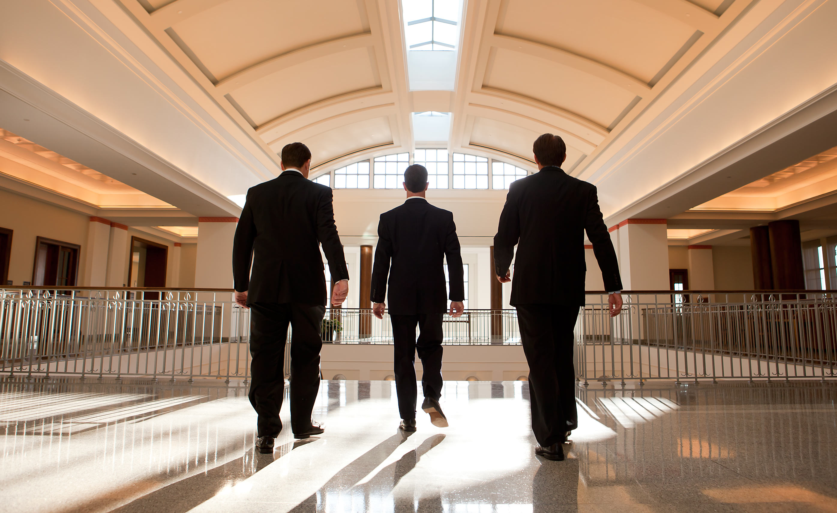 Walking Executives