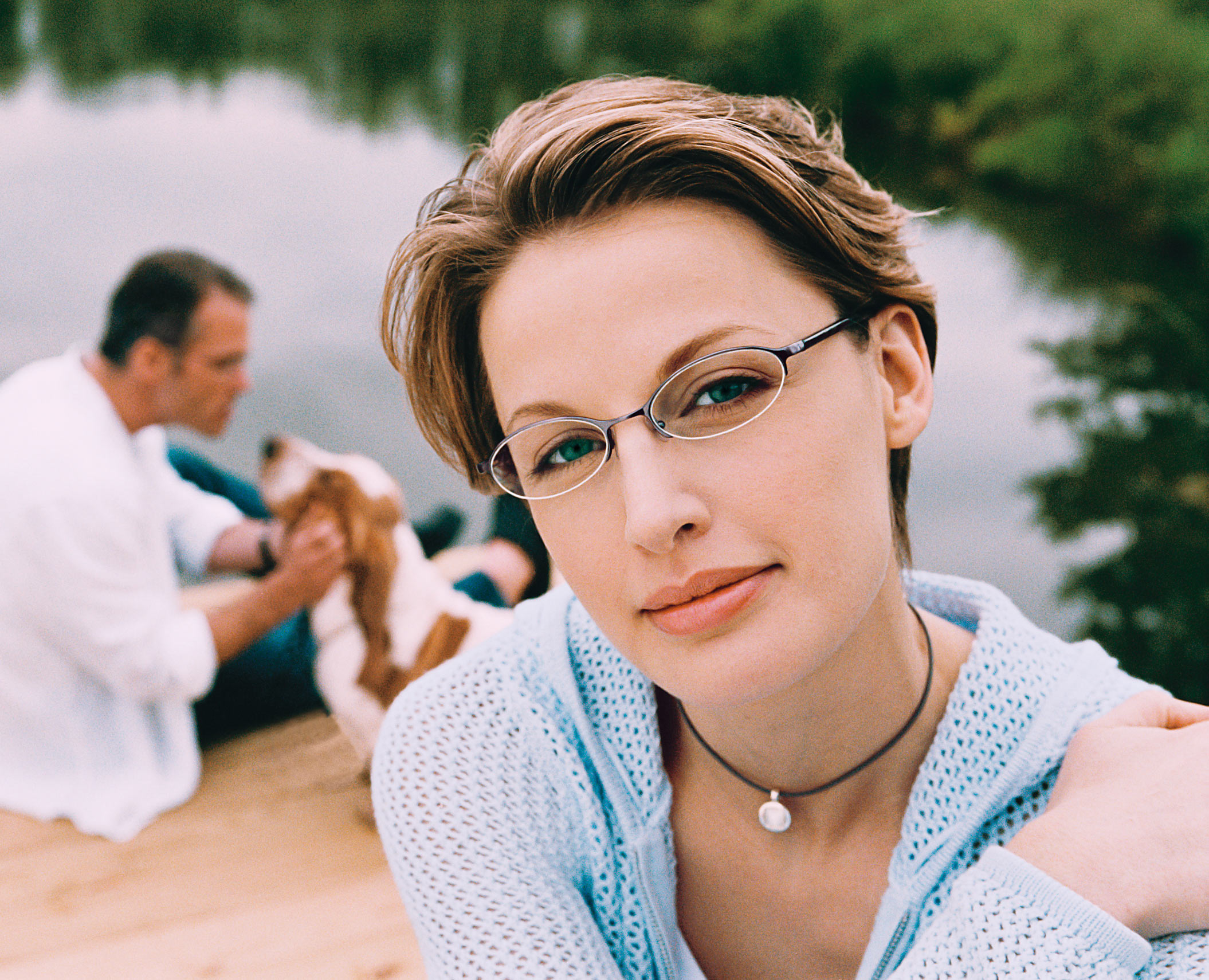 Woman with Glasses Portrait